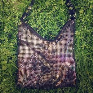 oil slick chainmail bag